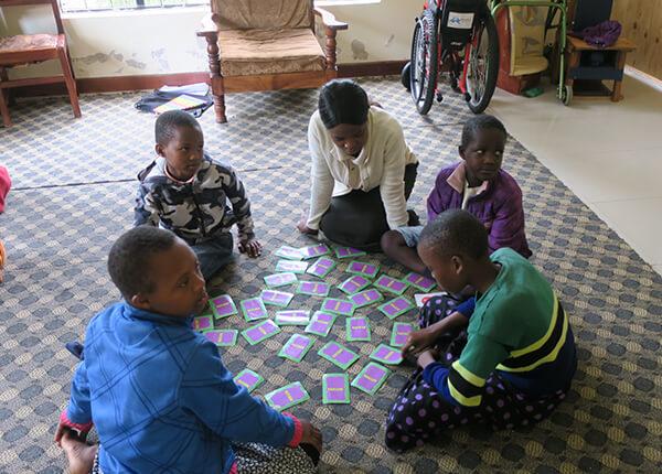 Destiny Foundation Tansania volunteering children with disabilities