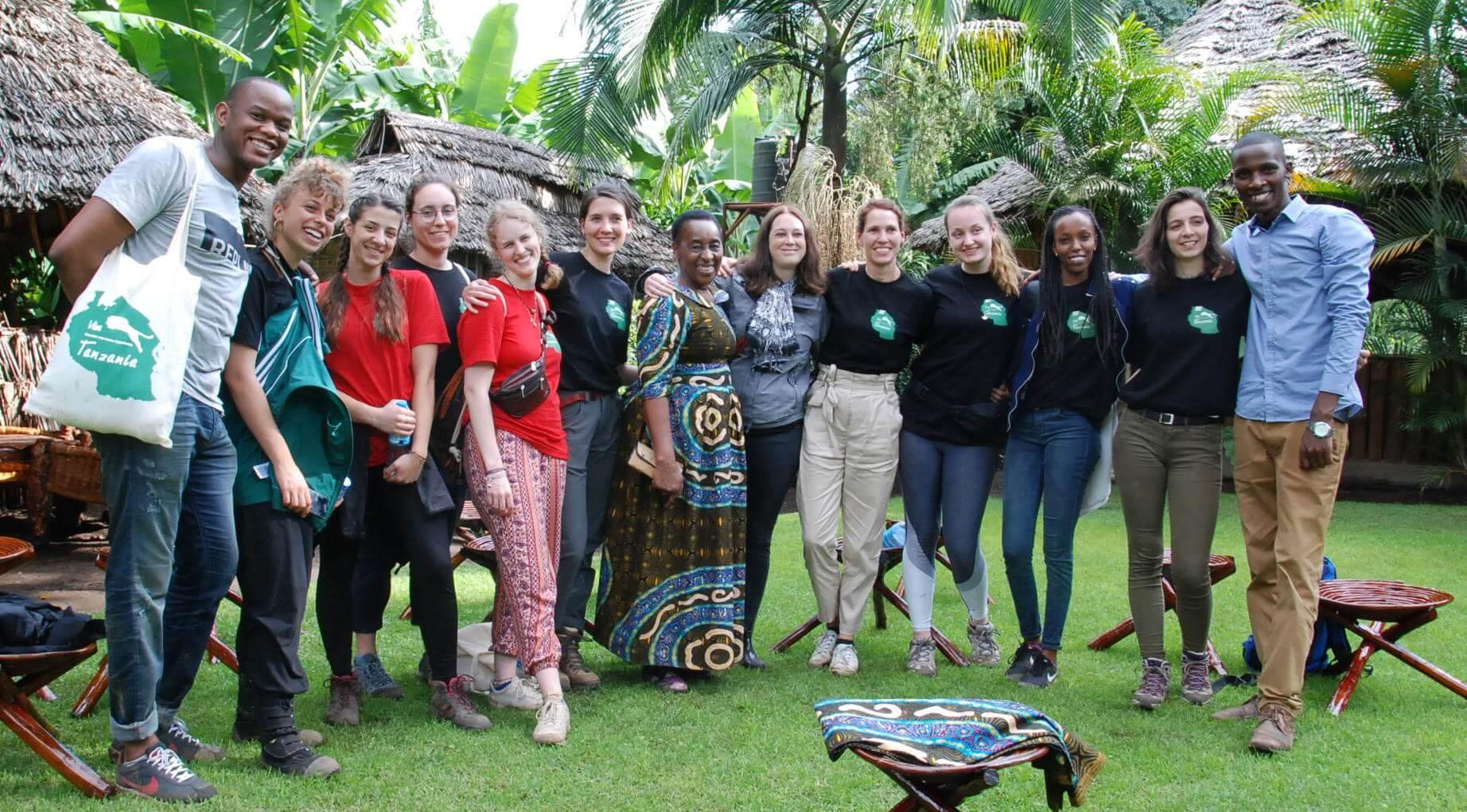 Duluti Green Foundation volunteering in Tanzania