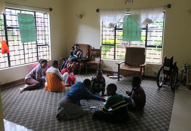 Destiny Foundation volunteering with children