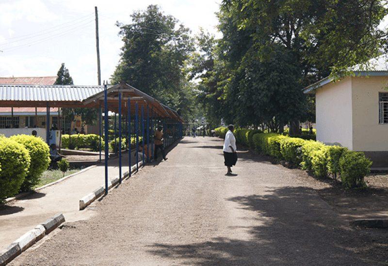 Meru District Hospital areal Tanzania internship