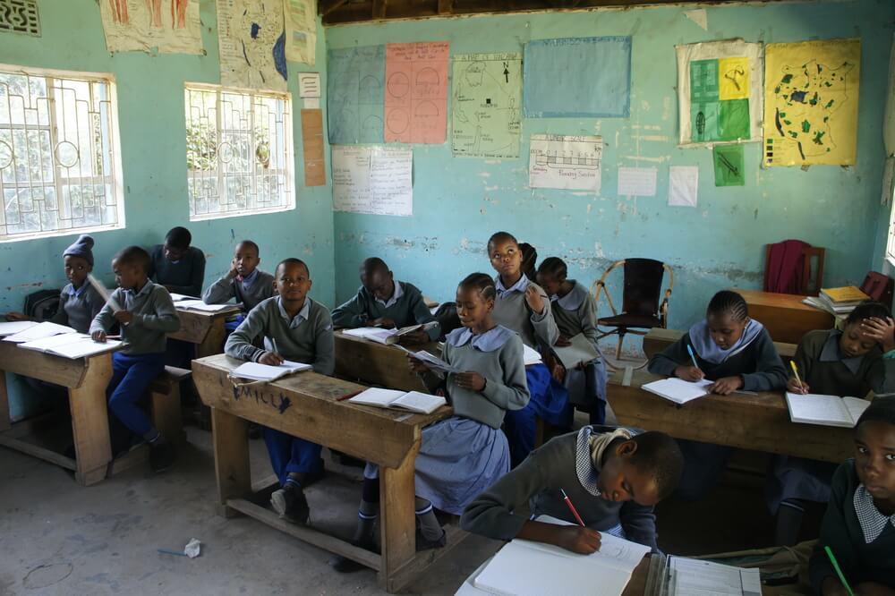 Nuru Pre & Primary School Volunteering Tansania students