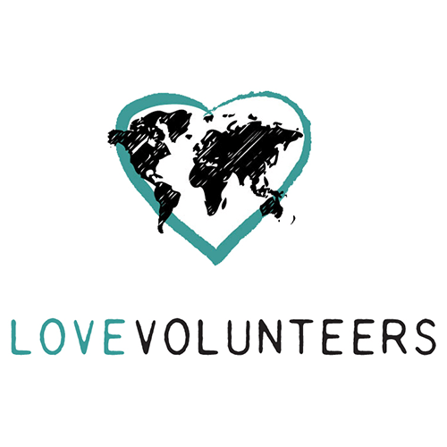 LOVEVOLUNTEERS logo