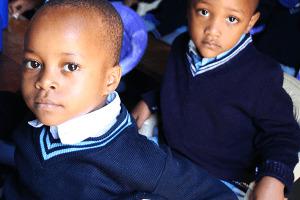 St. Pius Pre & Primary School children